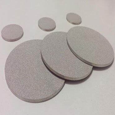 Sintered Metal Filter Disc Image 8