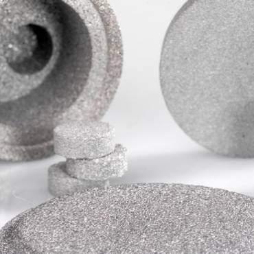 Porous Metal Filter Image
