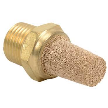 Sintered Bronze Muffler Image